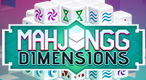 Mahjongg Dimensions: Enjoy this online Mahjongg game in 3D!