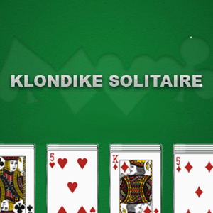 AARP Connect's online Klondike Solitaire game