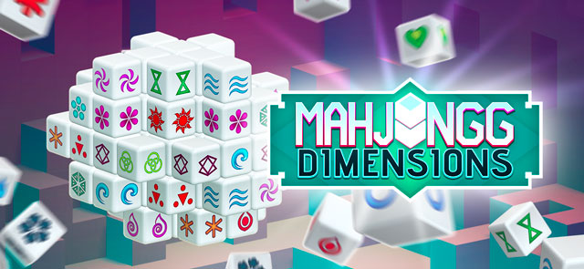 AOL-UK's free Mahjongg Dimensions game