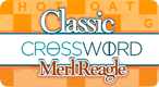 Classic Crosswords by Merl Reagle