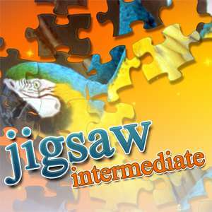 AARP Connect's online Jigsaw Puzzle Intermediate game