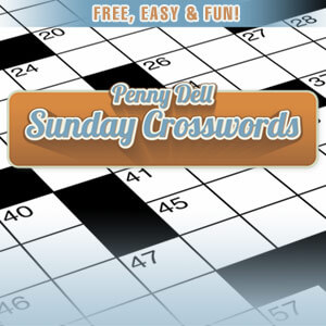picture about Printable Thomas Joseph Crossword Puzzle for Today named Enjoy Penny Dell Sunday Crossword Chicago Tribune