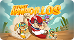Stunt Armadillos: Flick the stunt armadillos and make them fly as high and far as possible!