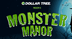 Dollar Tree Monster Manor: Solve Halloween matching games and puzzles before the time runs out!