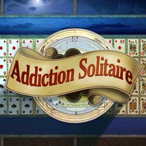 AARP Connect's online Addiction Solitaire game