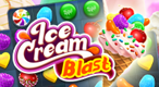 Ice Cream Blast: Taste the sweet indulgence of Ice Cream Blast, the most refreshing puzzle game you'll play this summer!