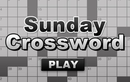 The Sunday Crossword