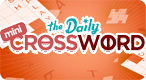 Mini Crossword: The best free online Mini Crossword game. Play now!