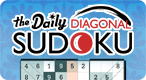 The Daily Diagonal Sudoku: Come back every day for a fresh new Sudoku puzzle!