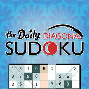 AARP Connect's online The Daily Diagonal Sudoku game