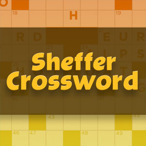 graphic relating to Printable Thomas Joseph Crossword Puzzle for Today called Enjoy Sheffer Crossword Chicago Tribune