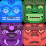 Alu's Revenge 2: You are trapped in the angry genie's temple—collapse the matching tiles to escape!