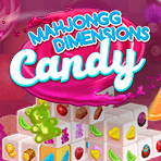 Mahjongg Dimensions Candy: Mahjongg Dimensions with a fresh new look!