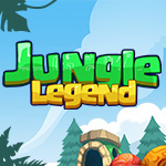 Jungle Legend: Enjoy this classic bubble shooter game by linking magical stones of the same color!