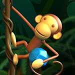 Monkey Gems: The snakes are after BenBen the friendly monkey! He needs your help!