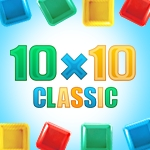 10x10: 10x10 is a Tetris-like puzzle game that's easy to play, but difficult to master!