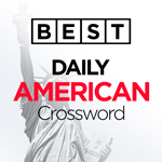 Best Daily American Crossword: A free daily crossword puzzle that's not too hard and not too easy.