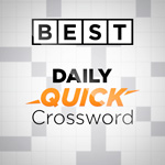 Best Daily Quick Crossword: A free daily crossword that's not too difficult - just right for your coffee break.