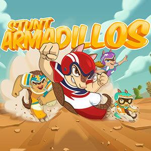 NeoBux's online Stunt Armadillos game