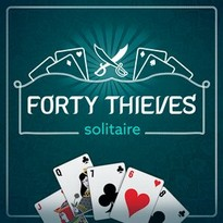 Play free online Forty Thieves Solitaire