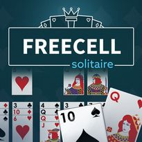 Play free online FreeCell Solitaire