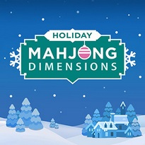 Play free online Holiday Mahjong Dimensions