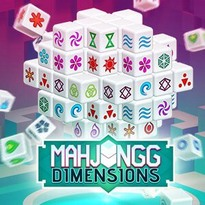 Play free online Mahjongg Dimensions New