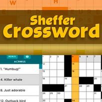 Play free online Sheffer Crossword