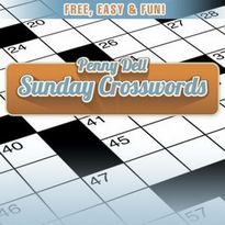 Play free online Penny Dell Sunday Crossword