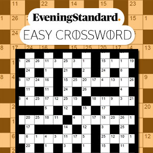 Play The Evening Standard S Easy Crossword