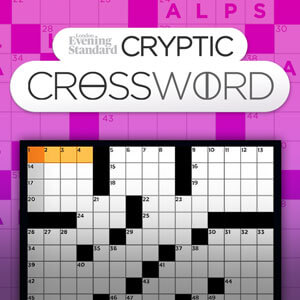 image relating to Cryptic Crosswords Printable named Cryptic Crossword - The Night time Classic