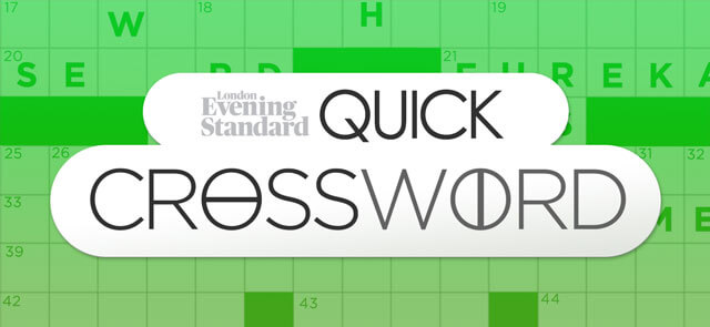 Crosswords And Puzzles The Evening Standard
