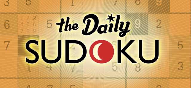 Jetzt The Daily Sudoku spielen!